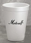 Personalized Foam Cups & Custom Printed 12 oz Foam Cups
