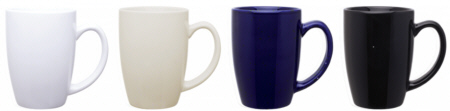 Personalized Contour Coffee Mugs & Custom Printed Contour Coffee Mugs
