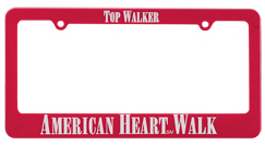 Personalized License Plate Frames & Custom Printed License Plate Frames