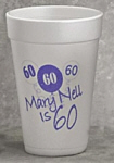Personalized Foam Cups & Custom Printed 16 oz Foam Cups