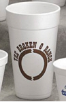 Personalized Foam Cups & Custom Printed 20 oz Foam Cups