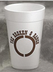 Personalized Foam Cups & Custom Printed 32 oz Foam Cups