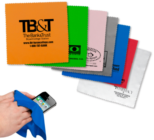 Personalized Microfiber Cleaning Cloths & Custom Logo Microfiber Cleaning Cloths