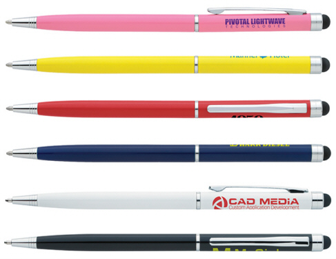 Personalized Touchscreen Stylus Pens & Custom Logo Touchscreen Stylus Pens