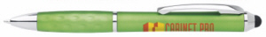 Personalized Tex Metallic Stylus Pens - Custom Printed Tex Metallic Stylus Pens