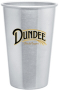 Personalized Stainless Steel Pint Glasses & Custom Printed Stainless Steel Pint Glasses