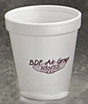 Personalized Foam Cups & Custom Printed 6 oz Foam Cups