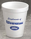 Personalized Foam Cups & Custom Printed 8 oz Foam Cups