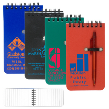 Personalized Spiral Notebooks & Custom Logo Spiral Notebooks