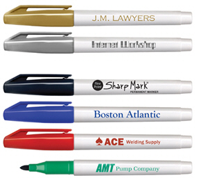Personalized Permanent Markers & Custom Logo Permanent Markers