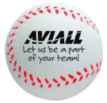 Personalized Stress Baseballs & Custom Printed Stress Baseballs