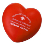 Personalized Heart Stress Relievers & Custom Printed Heart Stress Relievers