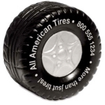 Personalized Tire Stress Relievers & Custom Printed Tire Stress Relievers