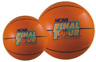 Personalized Basketball Beach Balls & Custom Printed Basketball Beach Balls