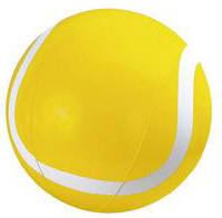 Personalized Tennis Ball Beach Balls & Custom Printed Tennis Ball Beach Balls