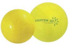 Personalized Yellow Beach Balls & Custom Printed Yellow Beach Balls