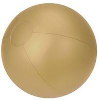 Personalized Gold Beach Balls & Custom Printed Gold Beach Balls