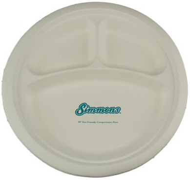 Personalized Biodegradable Plates - Custom Printed Compostable and Biodegradable Plates