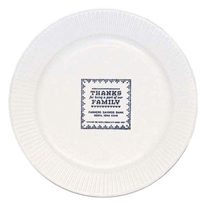 Personalized Paper Plates & Custom Printed Paper Plates