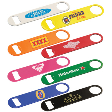 Personalized Paddle Style Bottle Openers & Custom Printed Paddle Style Bottle Openers