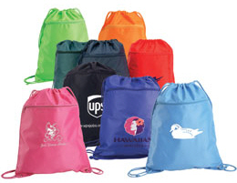 Personalized Drawstring Shoulder Packs & Custom Printed Drawstring Shoulder Packs