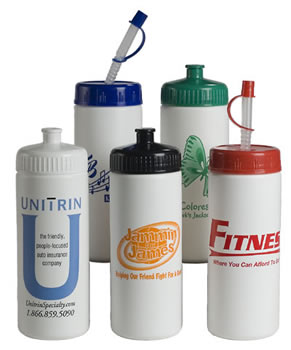 Personalized Sports Bottles & Custom Logo 16 oz. Classic Sports Bottles