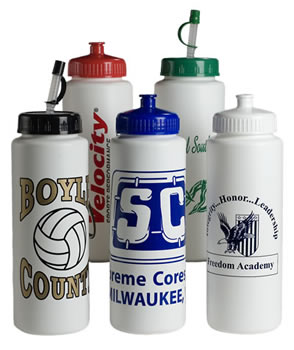 Personalized Sports Bottles & Custom Logo 32 oz. Classic Sports Bottles