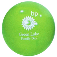 Personalized Green Beach Balls & Custom Printed Green Beach Balls