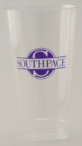 Personalized Plastic Cups & Custom Printed 16 oz Fluted Plastic Cups