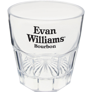 Personalized Plastic Double Old Fashioned Glasses & Custom Printed Plastic Double Old Fashioned Glasses