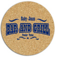 Personalized Cork Coasters & Custom Printed Cork Coasters
