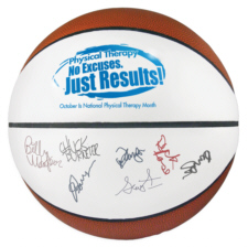 Personalized Basketballs & Custom Logo Signature Basketballs