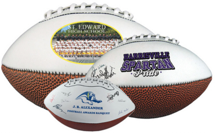 Personalized Signature Footballs & Custom Printed Signature Footballs