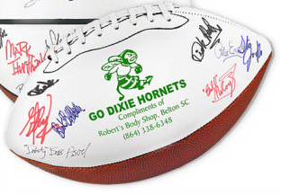 Personalized Footballs & Custom Printed Signature Footballs