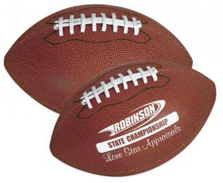 Personalized Footballs & Custom Printed Synthetic Leather Footballs