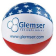 Personalized Patriotic Beach Balls & Custom Printed Patriotic Beach Balls