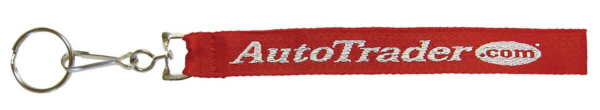 Personalized Embroidered Key Straps & Custom Embroidered Key Straps