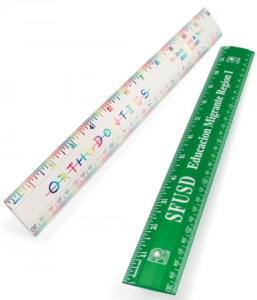 Personalized Rulers & Custom Printed 12