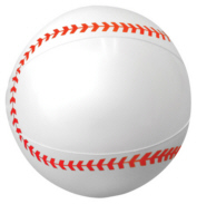 Personalized Baseball Beach Balls & Custom Printed Baseball Beach Balls