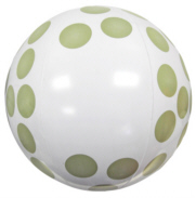 Personalized Golf Ball Beach Balls & Custom Printed Golf Ball Beach Balls