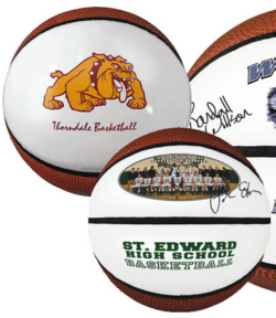Personalized Basketballs & Custom Logo Signature Mini Basketballs