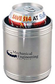Personalized Stainless Steel Can Coolie & Custom Printed Stainless Steel Can Coolie