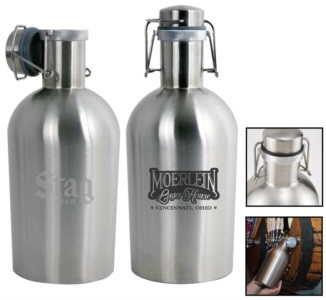 Personalized Growlers & Custom Logo Growlers