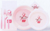 Personalized Plastic Plates & Cups - Custom Printed Plastic Plates & Cups